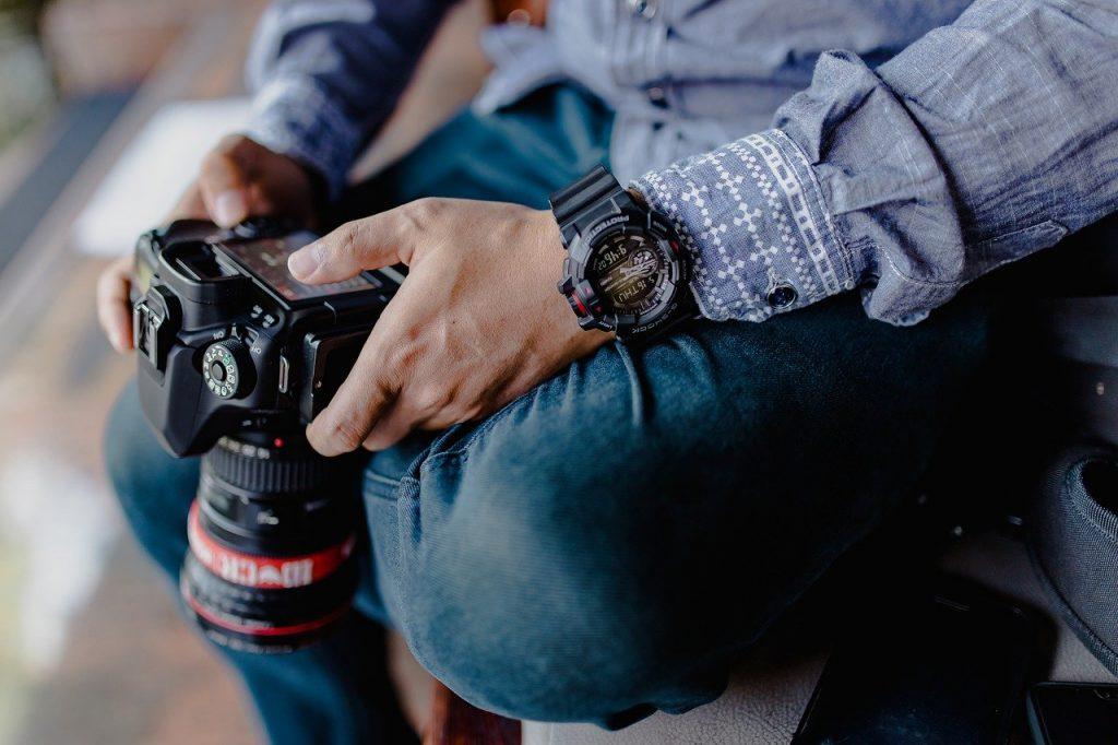 gear, camera, style